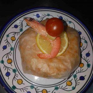 Pastilla au fruits de mer
